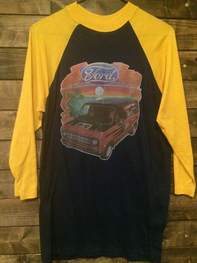 Ford Van 3/4 Sleeve Iron On Tee