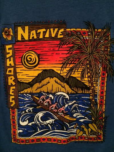 80's Hawaii Native Shores Tee