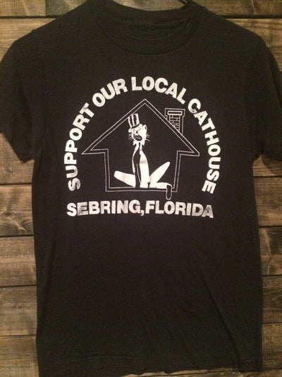 Sebring Florida Cathouse Tee