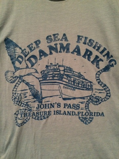 Early 80's Treasure Island, FL Tee