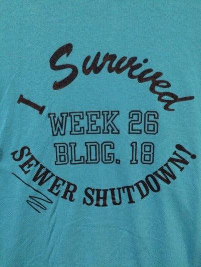 80's Survived Sewer Shutdown Tee