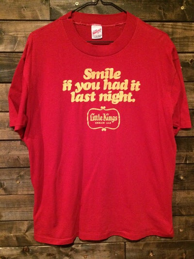 80's Little Kings Cream Ale Beer Tee
