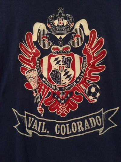 Vail, CO Soccer Camp Champion Brand Tee
