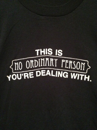 80's No Ordinary Person Tee