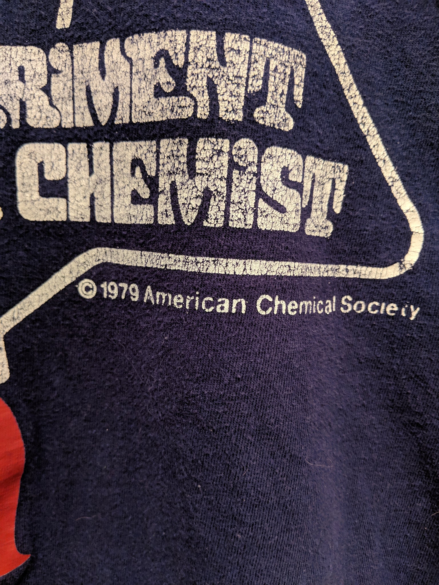 1979 Experiment With A Chemist Tee