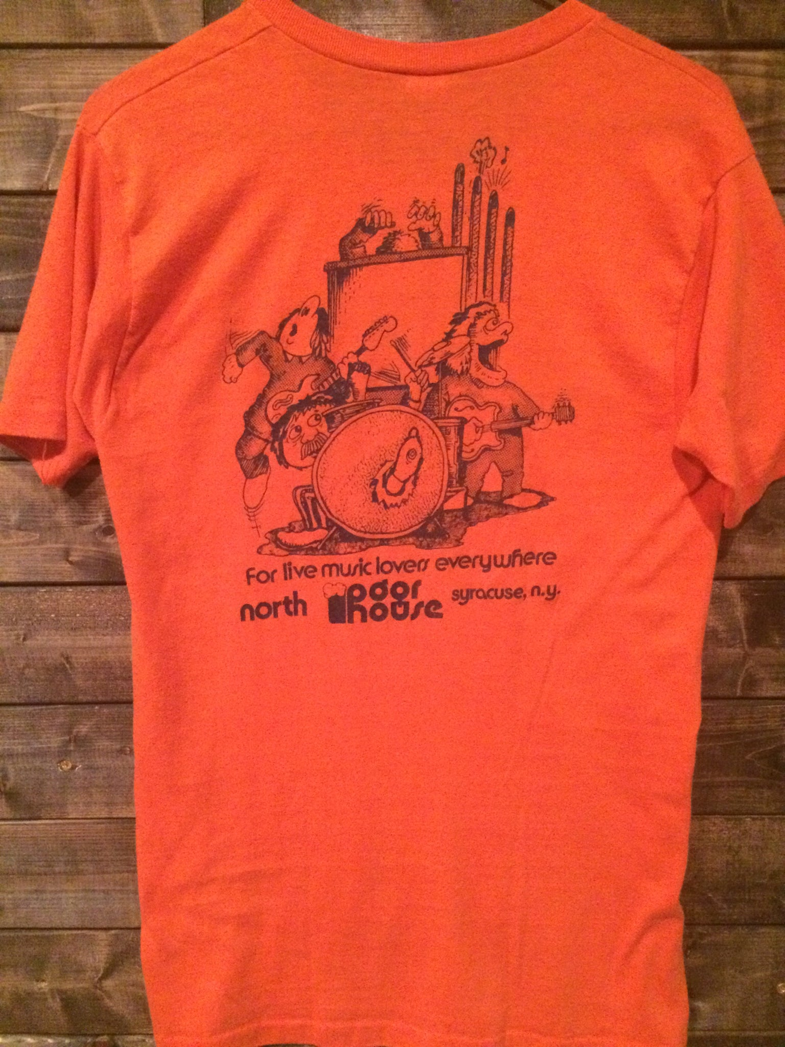 80's Syracuse Bar The Pour House Tee