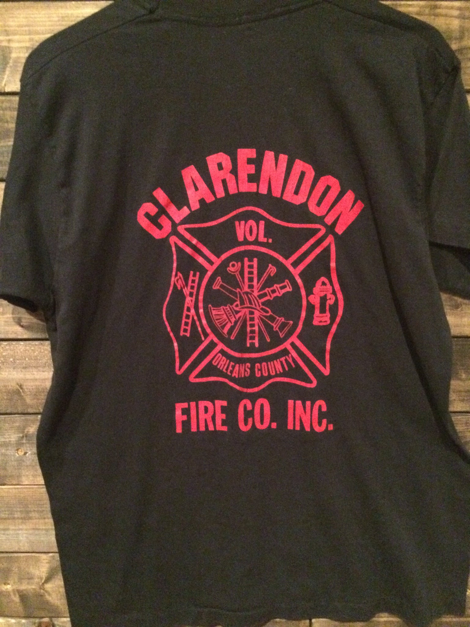 80's Clarendon, NY Fire Dept. Tee