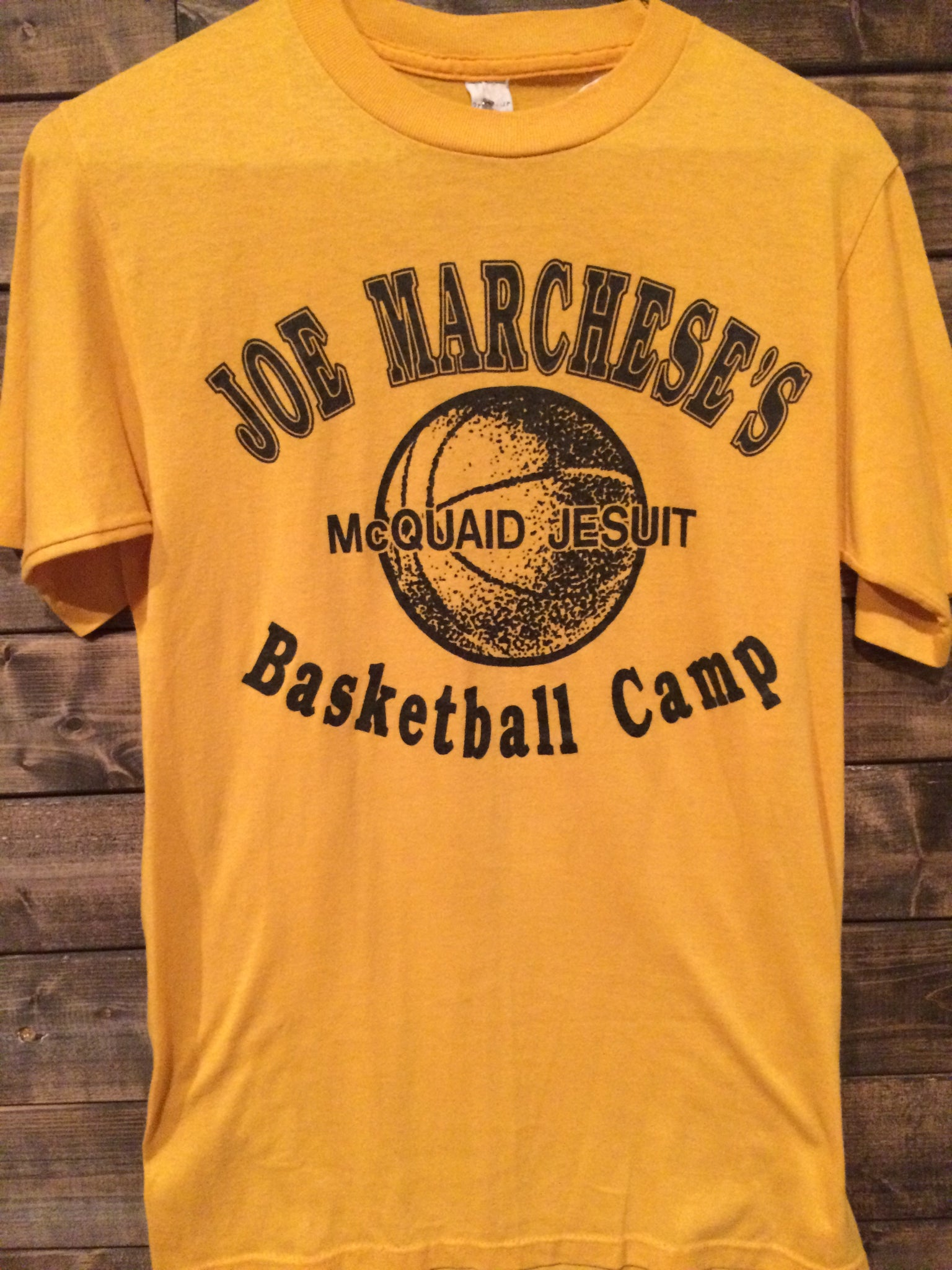 1980's McQuaid HS Basketball Camp Tee