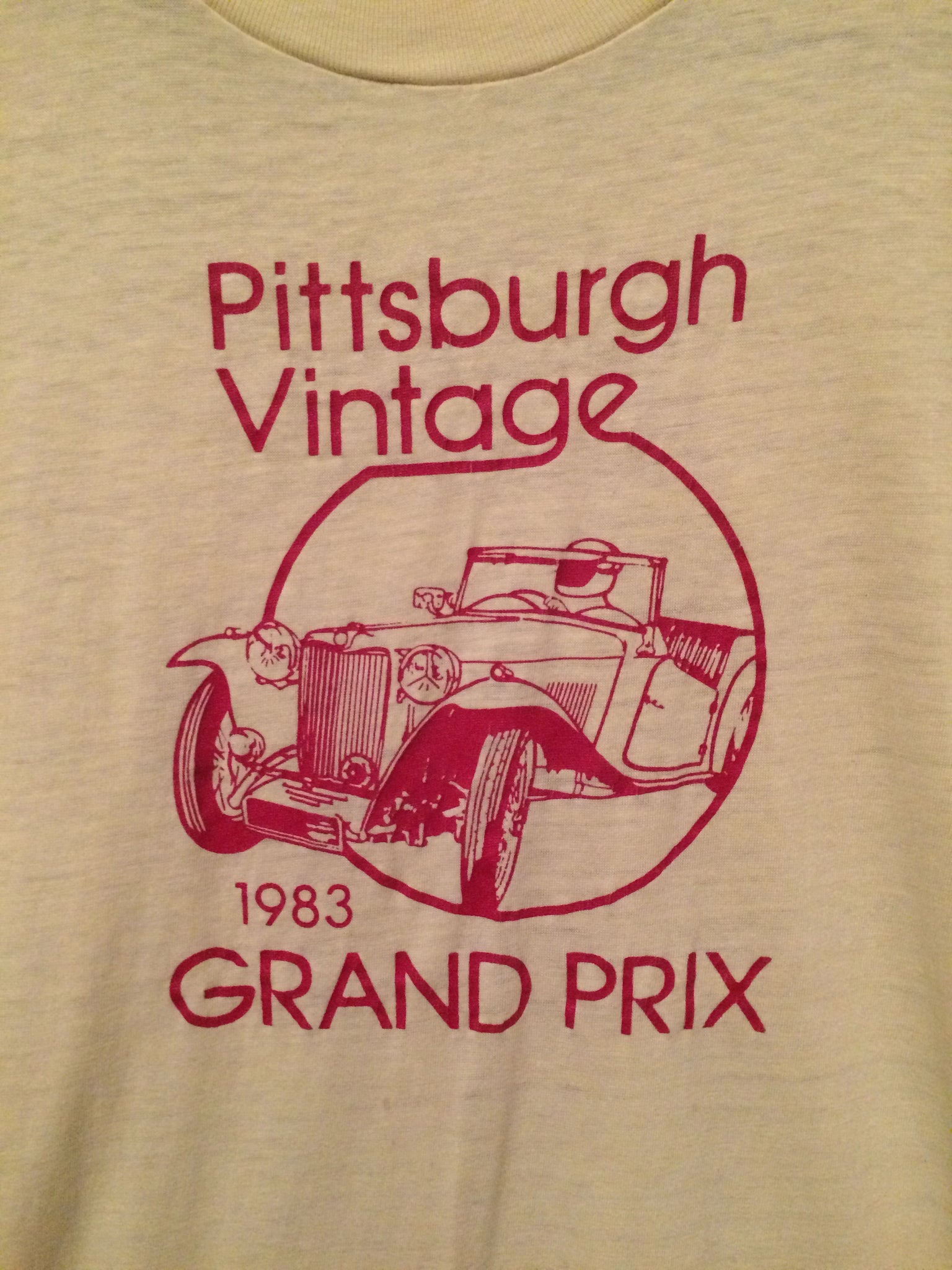 1983 Pittsburgh Grand Prix Tee