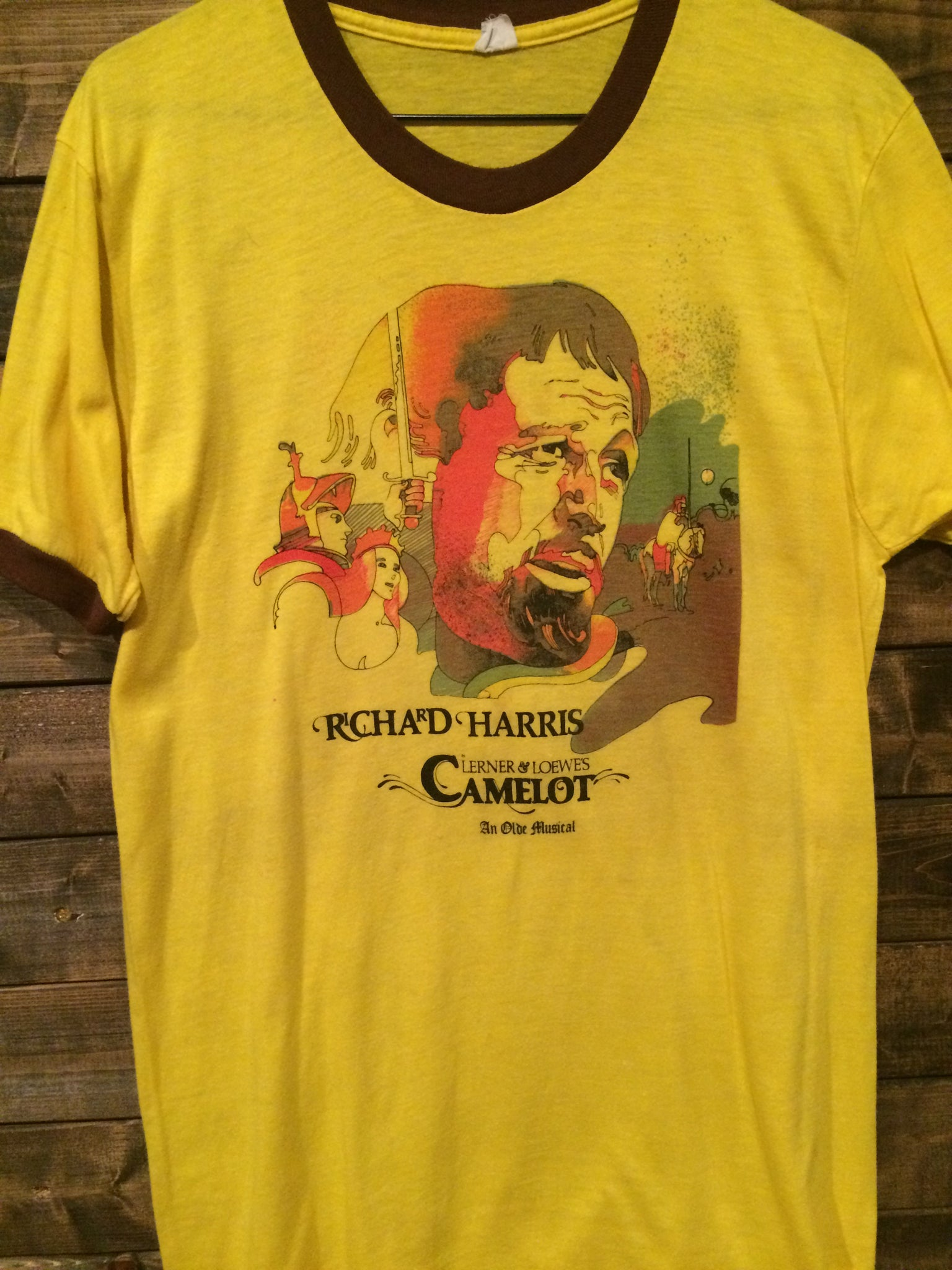 1982 Richard Harris in Camelot Ringer Tee