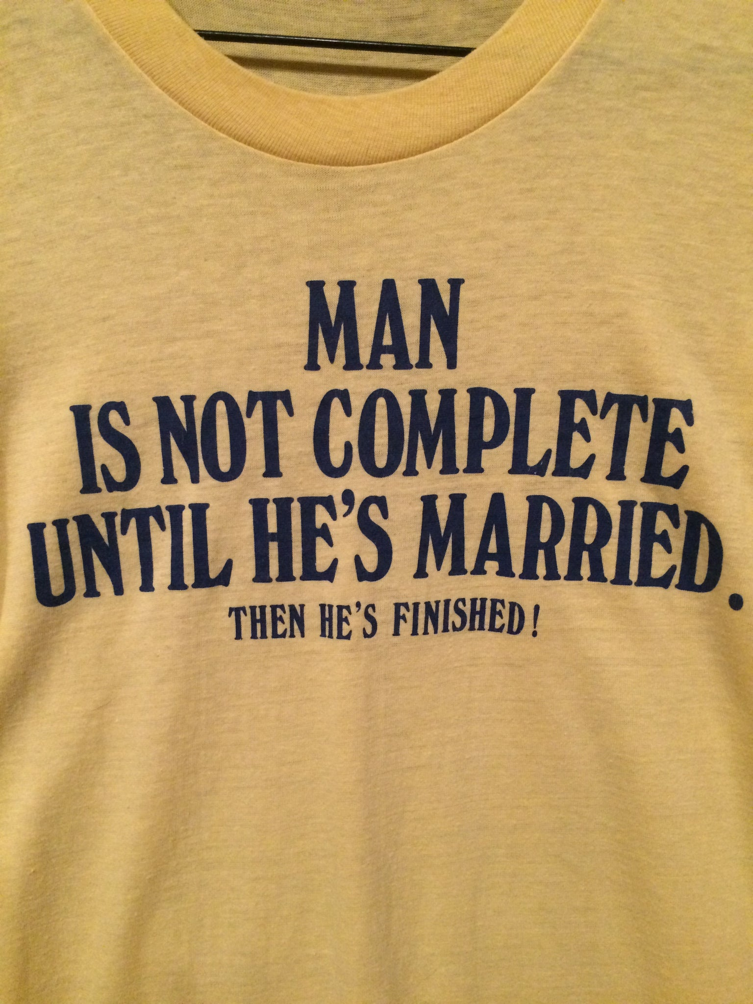 Funny 1980's Marriage Tee
