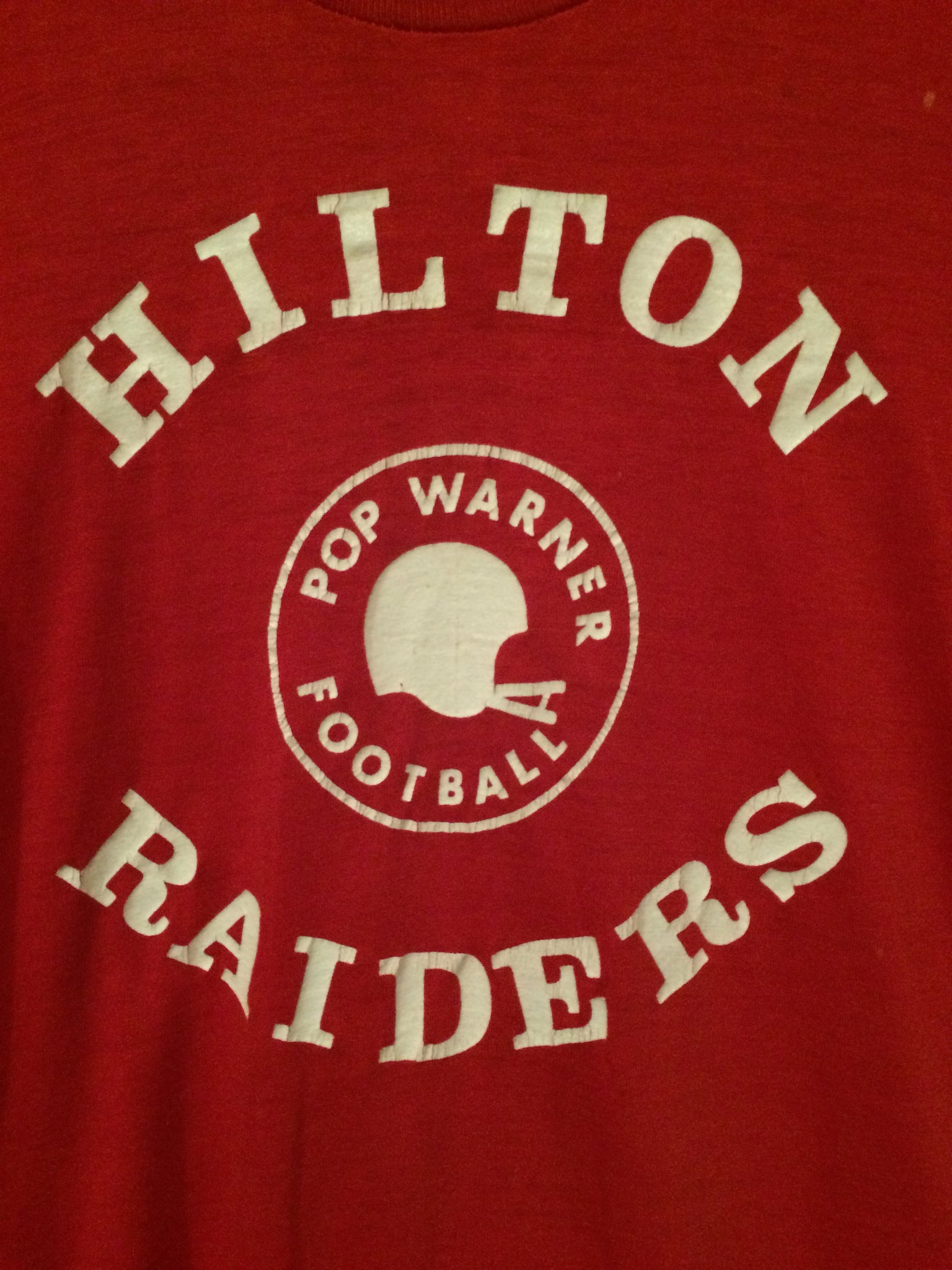 1970's Hilton, NY Pop Warner Football Tee