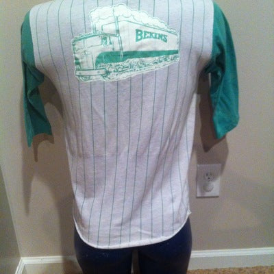 Bekins Trucking 3/4 Sleeve Iron On Jersey Tee