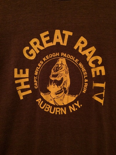 1981 Great Race Tee Auburn, NY Tee