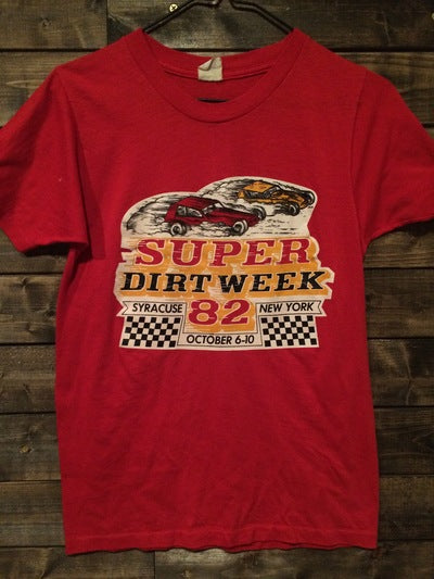 1982 Syracuse Dirt Track Race Tee