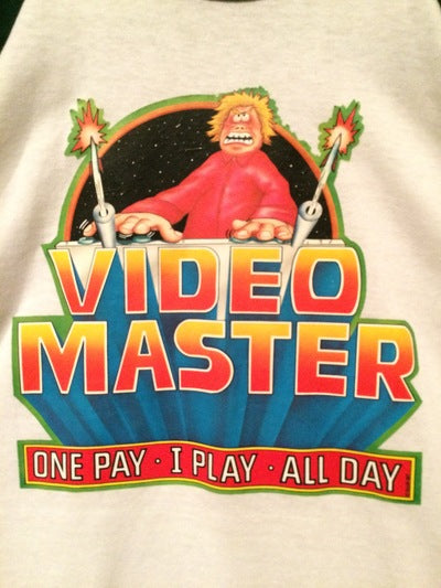 Video Game Master 3/4 Sleeve Iron On Tee