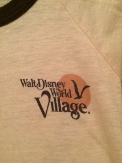 80's Walt Disney World Village Tee