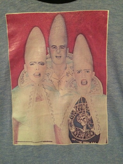 SNL Coneheads Iron On Ringer Tee