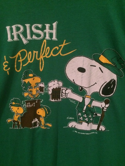 Snoopy Artex Brand Irish Tee