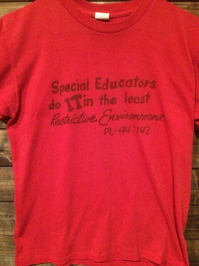 80's Special Education Mansfield State College Tee