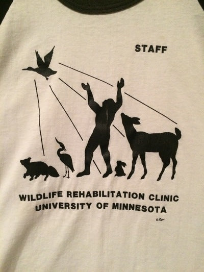 80's Minnesota Wildlife 3/4 Sleeve Tee