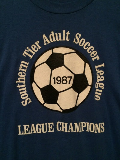 1987 Southern Tier Soccer Tee