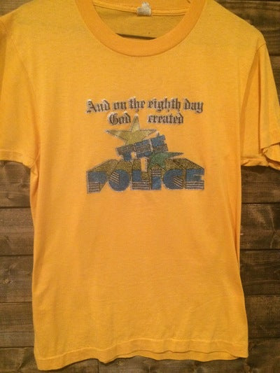80's The Police Iron On Tee