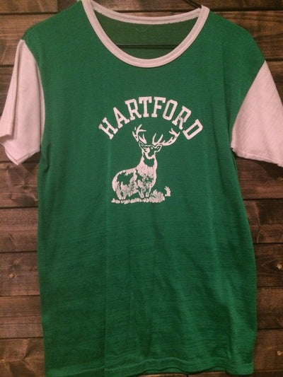 1970's Hartford Polyester Stretch Ringer Tee