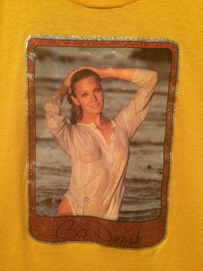 Bo Derek Iron On Tee