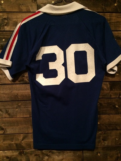 Early 80's Champion Brand Soccer Mesh Jersey
