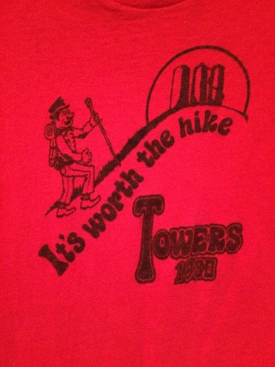 1980 Hike The Towers Tee