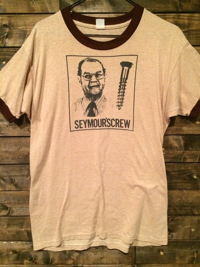 80's Seymore'screw Ringer Tee