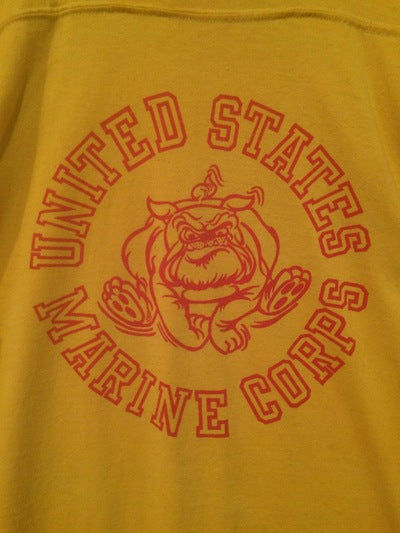 80's U.S. Marines 2 Sided Tee