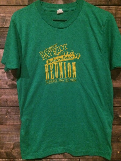 1986 Rochester Patriots Reunion Tee