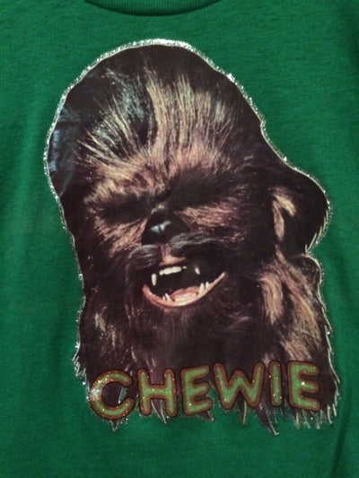 Chewy Iron On Tee