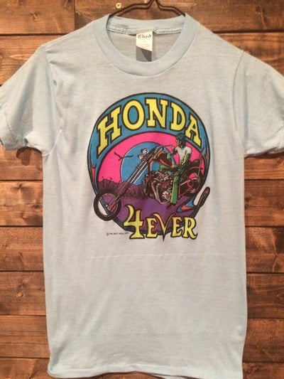Ladies Honda Motorcycle Iron On Tee