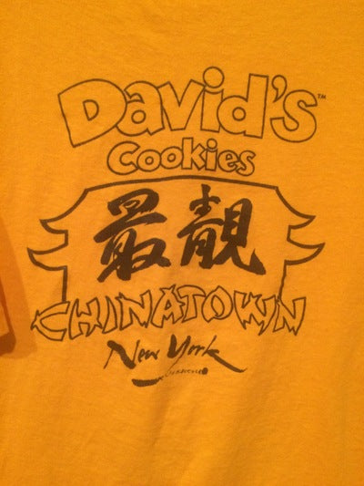 80's David's Cookies Chinatown, NYC Tee