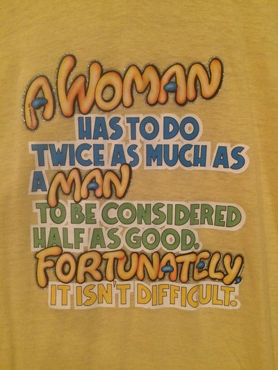 80's Funny Women's Iron On Tee