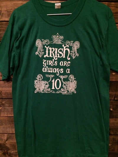 1983 Irish Girls Are Always A 10 Tee