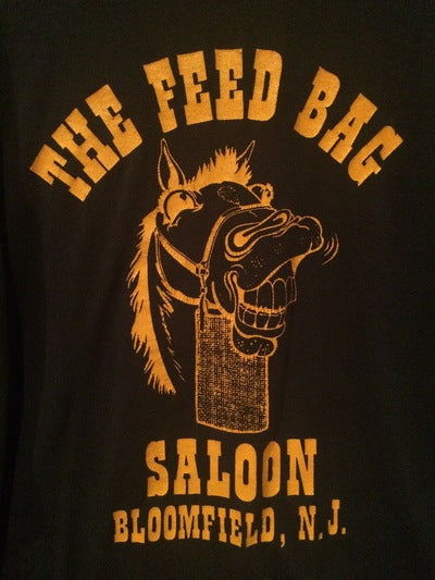 80's Feed Bag Saloon Bloomfield, NJ Tee