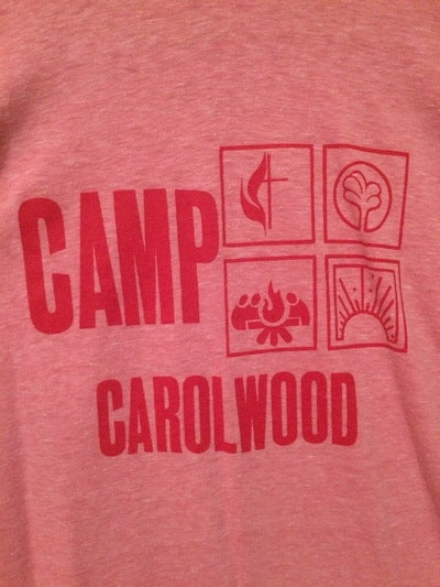 1980's Camp Carolwood Velva Sheen Tee