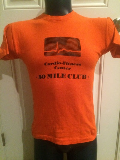 Champion Blue Bar 50 Mile Runners Club Tee