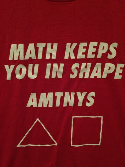 80's New York State Math League Tee
