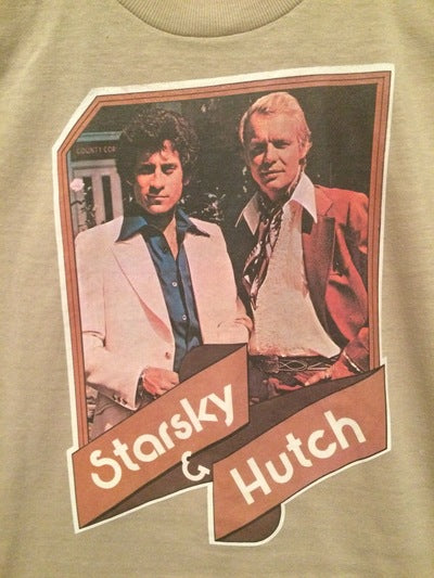 Ladies Starsky and Hutch Iron On Tee