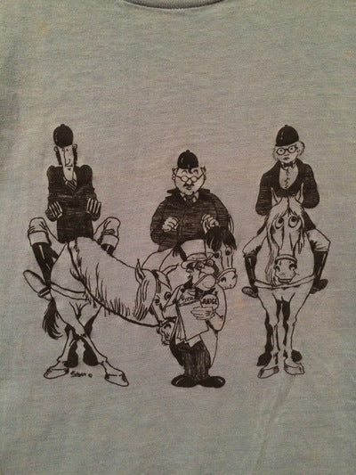 Funny 70's Horse Show Tee