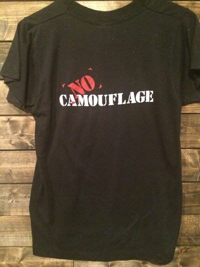No Camouflage Band Tee