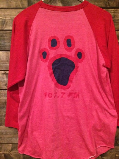80's 107.7 The Bear Radio Station 3/4 Sleeve Tee