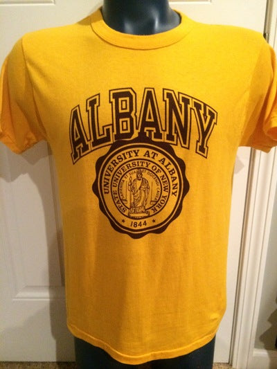 University of Albany Champion Brand Tee
