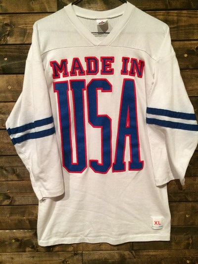 Made in USA 3/4 Sleeve Tee