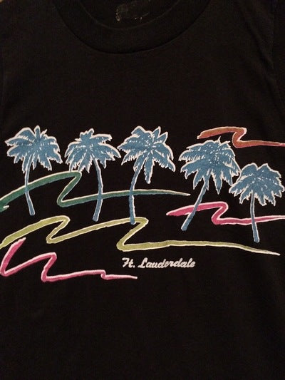 Ladies 80's Ft. Lauderdale Muscle Tee